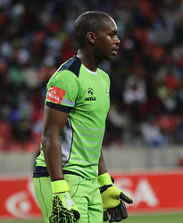 Mbongeni Mzimela of Platinum Stars during the 2016 Premier Soccer League match between Chippa United and Platinum Stars held at the Nelson Mandela Bay Stadium in Port Elizabeth, South Africa on the 28th October 2016<br />