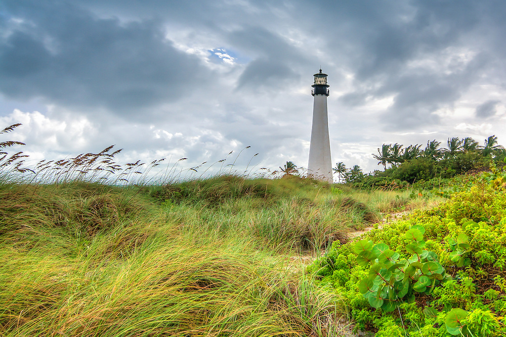 Lighthouse at Key Biscayne