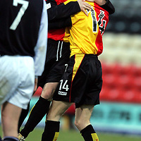 Partick Thistle v Raith Rovers..29.01.05<br />