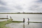 Daily life in the refugge camps in sittwe<br />Sittwe, Myanmar July 2016 @Giulio Di Sturco