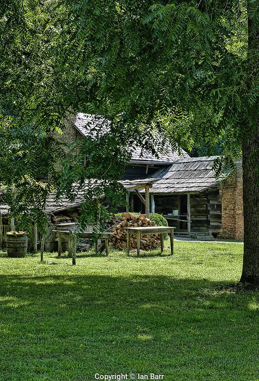 Great Smoky Mountains Farm,Oconaluftee, North Carolina.