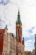The Old Town Hall. Gdansk, Poland