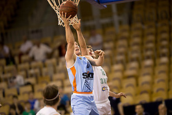 Matic Rebec of KK SIXT Primorska during basketball match between KD Ilirija and KK Sixt Primorska in Playoffs of Liga Nova KBM 2017/18, on April 25, 2018 in Tivoli sports hall, Ljubljana, Slovenia. Photo by Urban Urbanc / Sportida