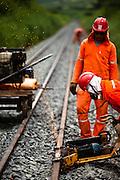 Milagres_CE, Brasil...Obras da Ferrovia Transnordestina em Milagres, Ceara...Construction of the Transnordestina railroad in Milagres, Ceara...Foto: LEO DRUMOND / NITRO