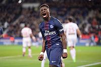 19 SERGE AURIER (psg) - JOIE - COLERE<br /> <br /> FOOTBALL : Paris SG vs Lille - Ligue 1 - 07/02/2017<br /> Norway only