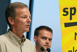 Tone Jagodic na okrogli mizi 1. Slovenskega smucarskega forumu v organizaciji SportForum Slovenija, September 14, 2011, Kristalna Palaca, BTC City, Ljubljana, Slovenija. (Photo by Matic Klansek Velej / Sportida)