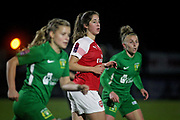 Arsenal forward Ava Kuyken (24) during the FA Women's Super League match between Arsenal Women and Yeovil Town Women at Meadow Park, Borehamwood, United Kingdom on 20 February 2019.