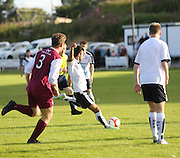 Dylan Carrerio opens the scoring - Arbroath Vics v Dundee 20s, Pre-season friendly at OgilvyPark<br /> <br />  - &copy; David Young - www.davidyoungphoto.co.uk - email: davidyoungphoto@gmail.com
