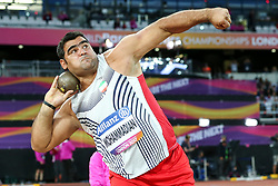 22.07.2017, Olympia Stadion, London, GBR, Leichtathletik WM der Behinderten, im Bild Sajad Mohammadian (IRI, F42) // Sajad Mohammadian (IRI, F42) // during the World Para Athletics Championships at the Olympia Stadion in London, Great Britain on 2017/07/22. EXPA Pictures © 2017, PhotoCredit: EXPA/ Eibner-Pressefoto/ Eibner-Pressefoto<br /> <br /> *****ATTENTION - OUT of GER*****