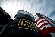 May 21, 2014: Monaco Grand Prix: Lotus hospitality