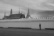 Thailand. Bangkok. Royal Palace area / quartier du Palais Royal
