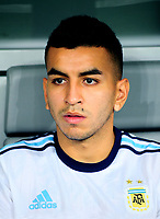 Conmebol - World Cup Fifa Russia 2018 Qualifier / <br /> Argentina National Team - Preview Set - <br /> Angel Martin Correa Martinez