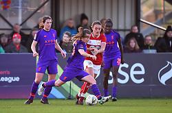 Christie Murray of Liverpool Women with the ball - Mandatory by-line: Paul Knight/JMP - 17/11/2018 - FOOTBALL - Stoke Gifford Stadium - Bristol, England - Bristol City Women v Liverpool Women - FA Women's Super League 1