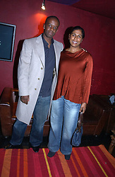 Actor ADRIAN LESTER and LOLITA CHAKRABARTI at the 9th Annual British Independent Film Awards at the Hammersmith Palais, London on 29th November 2006.<br />