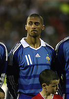 Armand Traore of France U21
