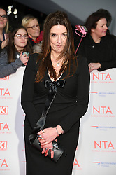 Katherine Dow Blyton attending the National Television Awards 2018 held at the O2, London. Photo credit should read: Doug Peters/EMPICS Entertainment