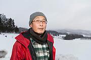 Akihiro Asami är ordförande för Fukushima Organic Agriculture Network<br /> Fotograf: Christina Sjögren<br /> Copyright 2018, All Rights Reserved