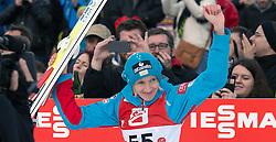 06.02.2016, Energie AG Skisprung Arena, Hinzenbach, AUT, FIS Weltcup Ski Sprung, Hinzenbach, Damen, Bewerb, im Bild 2. Platz Daniela Iraschko-Stolz (AUT) // during Ladies Skijumping Competition of FIS Skijumping World Cup at the Energie AG Skisprung Arena, Hinzenbach, Austria on 2016/02/06. EXPA Pictures © 2016, PhotoCredit: EXPA/ Reinhard Eisenbauer