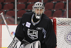 May 29, 2012: Stanley Cup Finals Media Day - Los Angeles Kings Practice