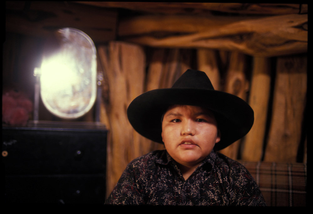 Randy Desmond (14).  Oljeto, Utah.   1993.