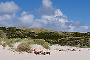 Sylt, Germany. Hörnum Odde, Southern tip of the island.