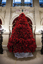 Poinsettia Christmas Tree, The Breakers, Newport, Rhode Island, United States of America