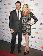 16.SEPTEMBER.2011. TORONTO<br /> <br /> JOHN HAMM AND JENNIFER WESTFELDT ATTEND THE PRIEMIERE OF 'FRIENDS WITH KIDS' AT THE RYERSON THEATRE, DURING THE 2011 TORONTO INTERNATIONAL FILM FESTIVAL, IN CANADA.<br /> <br /> BYLINE: EDBIMAGEARCHIVE.COM<br /> <br /> *THIS IMAGE IS STRICTLY FOR UK NEWSPAPERS AND MAGAZINES ONLY*<br /> *FOR WORLD WIDE SALES AND WEB USE PLEASE CONTACT EDBIMAGEARCHIVE - 0208 954 5968*