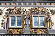 Wohnturm zum Goldenen Löwen, Altstadt, Konstanz, Bodensee, Baden-Württemberg, Deutschland