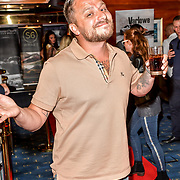 Dapper Laughs attend the Driving holiday experience hosts yacht party at The Sunborn Yacht, Royal Victoria Dock on 31 May 2019, London, UK.