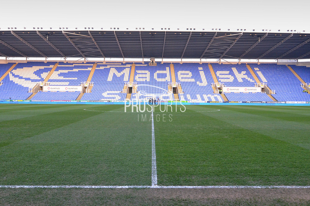 The Madjedski Stadium before the The FA Cup Quarter Final match between Reading and Crystal Palace at the Madejski Stadium, Reading, England on 11 March 2016. Photo by Mark Davies.