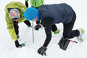 Feinsuche mit LVS<br />