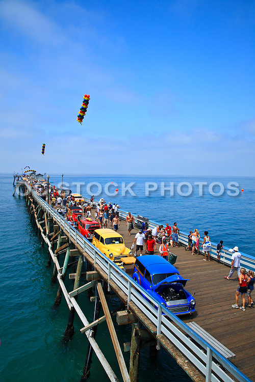 Classic Car Show On The San Clemente Pier