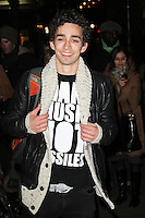 LONDON - DECEMBER 13: Robert Sheehan attended the English National Ballet Christmas Party at St Martins Lane Hotel, London, UK. December 13, 2012. (Photo by Richard Goldschmidt)