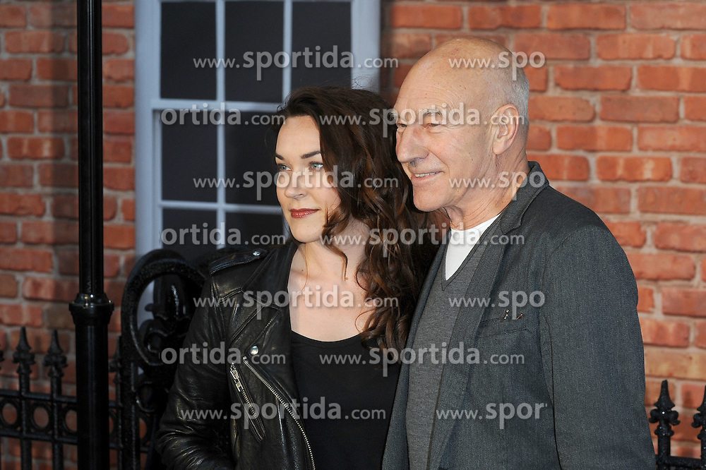 Sunny Ozell and Patrick Stewart attend the UK Premiere of Mr Holmes at Odeon Kensington High Street in London, 10th June 2015. EXPA Pictures &copy; 2015, PhotoCredit: EXPA/ Photoshot/ Paul Treadway<br /> <br /> *****ATTENTION - for AUT, SLO, CRO, SRB, BIH, MAZ only*****