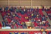 AFC Wimbledon fans during the EFL Sky Bet League 1 match between Sunderland and AFC Wimbledon at the Stadium Of Light, Sunderland, England on 24 August 2019.