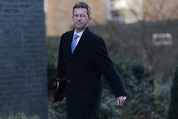 © Licensed to London News Pictures. 28/02/2017. LONDON, UK.  Attorney General, Jeremy Wright arrives for a cabinet meeting at 10 Downing Street.  Photo credit: Vickie Flores/LNP