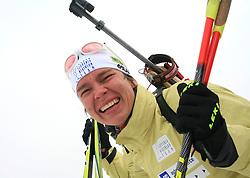 Teja Gregorin of Slovenian Women Biathlon Team at Dachstein glacier before new season 2008/2009, Austria, on October 30, 2008.  (Photo by Vid Ponikvar / Sportida)