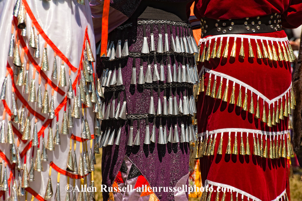 Jingle Dancers, Crow Fair, powwow, Crow Indian Reservation, Montana