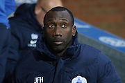 Jimmy Flloyd Hasselbaink during the Sky Bet Championship match between Blackburn Rovers and Queens Park Rangers at Ewood Park, Blackburn, England on 12 January 2016. Photo by Pete Burns.