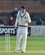 Matt Renshaw of Kent during the Specsavers County Champ Div 1 match between Somerset County Cricket Club and Kent County Cricket Club at the Cooper Associates County Ground, Taunton, United Kingdom on 7 April 2019.