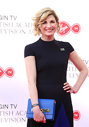 Jodie Whitaker attending the Virgin TV British Academy Television Awards 2018 held at the Royal Festival Hall, Southbank Centre, London.