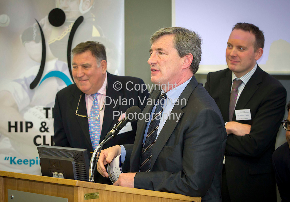 REPRO FREE.23/6/2012..Mr Tadhg O'Sullivan pictured at the 2nd International Hip and Groin Sports Injury Symposium Whitfield Clinic 2012 at Waterford Institute of Technology...Picture Dylan Vaughan..