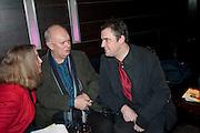 ALAN AYCKBOURN; JEREMY HERRIN, Absent Friends - press night  afterparty. Mint Leaf. Haymarket. London. Thursday 9 February 2012