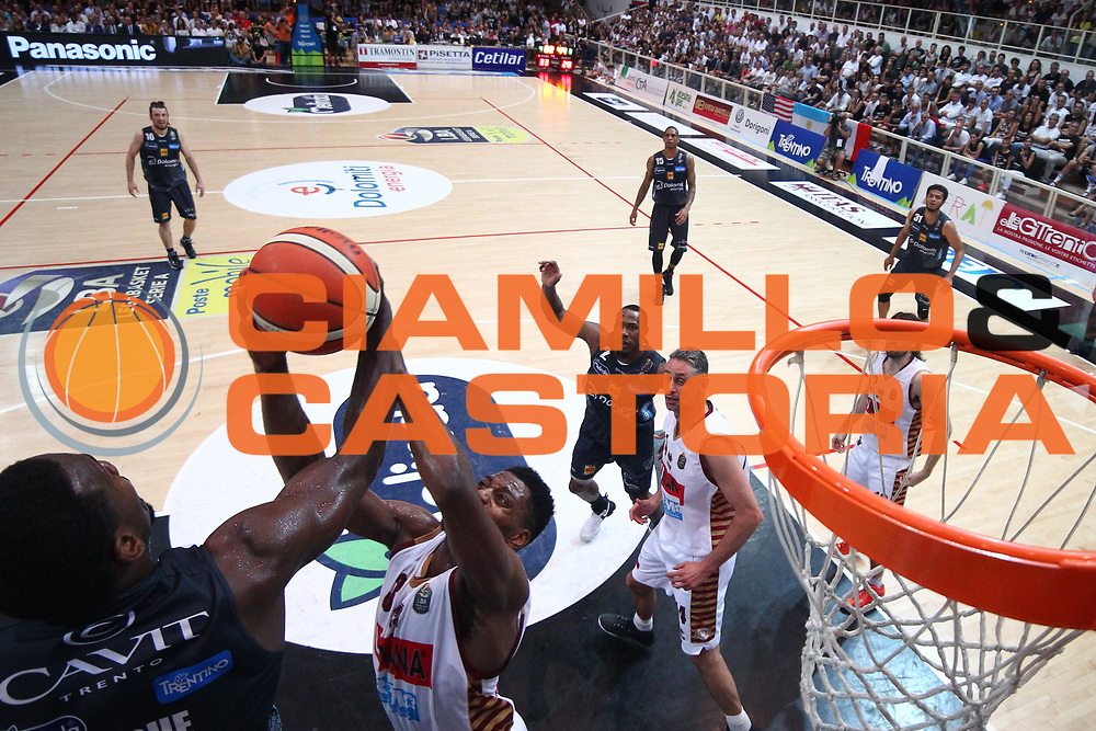 Ejim Melvin<br /> Umana Reyer Venezia - Dolomiti energia Trento<br /> Lega Basket Serie A 2016/2017<br /> Play Off Finale Gara 6 <br /> Trento 20/06/2017<br /> Foto Ciamillo-Castoria/A. Gilardi