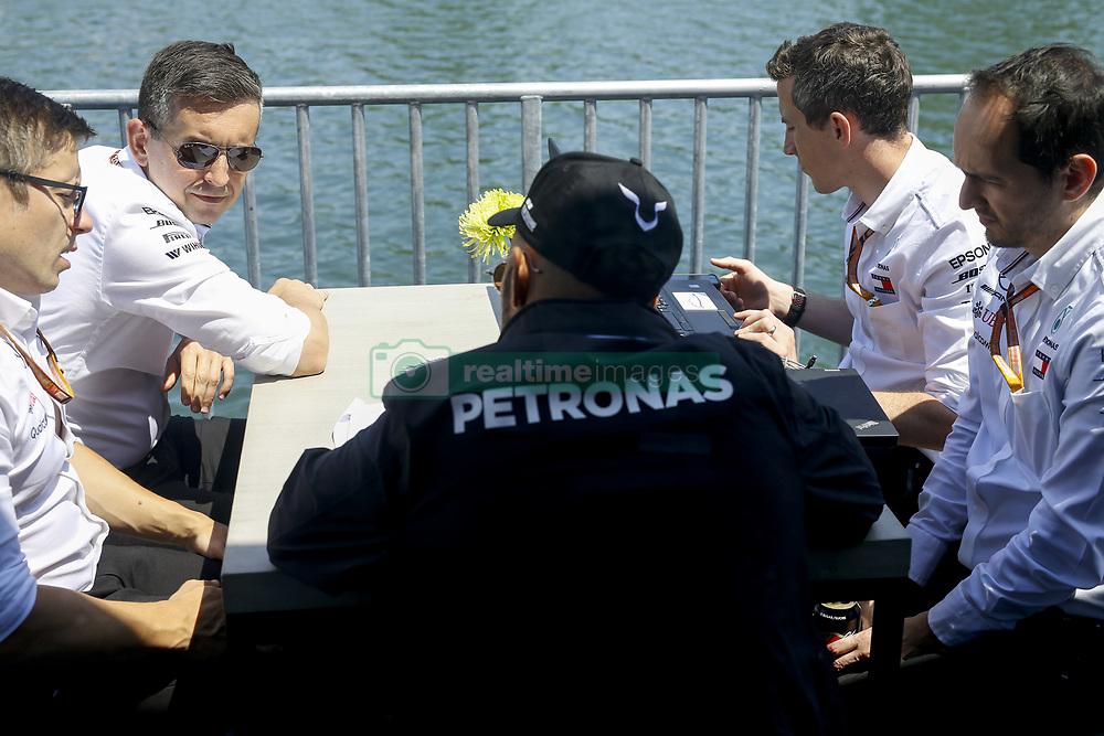 June 7, 2018 - Montreal, Canada - Motorsports: FIA Formula One World Championship 2018, Grand Prix of Canada#44 Lewis Hamilton (GBR, Mercedes AMG Petronas F1 Team) (Credit Image: © Hoch Zwei via ZUMA Wire)