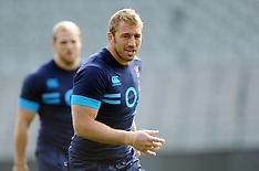 Auckland-Rugby, England teams captains run