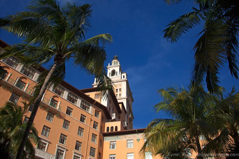 USA, Florida, Coral Gables. The Biltmore Hotel, a National Historic Landmark.