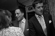 LADY VIRGINA FRASER ( VIRGINIA JOHNSON ) LORD FREDERICK WINDSOR; LORD ALEXANDER SPENCER-CHURCHILL, Robin Birley and Lady Annabel Goldsmith Summer Party. Hertford St. London. 5 July 2017