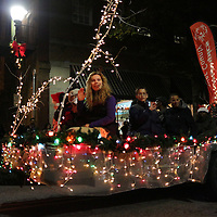 The Special Olympics of New Hanover Couty participate in the 12th Annual Wilmington Holiday Parade Sunday December 7, 2014 in Wilmington, N.C. (Jason A. Frizzelle)
