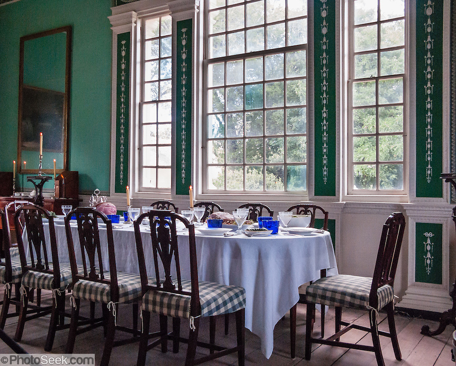 Mount Vernon, Virginia, USA, plantation home of George Washington ...